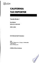 California Tax Reporter