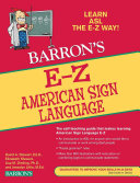Pdf E-Z American Sign Language Telecharger