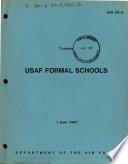 USAF Formal Schools