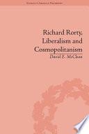 Richard Rorty  Liberalism and Cosmopolitanism