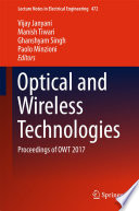 Optical and Wireless Technologies Book