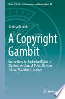 A Copyright Gambit