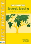 Pdf Implementing Strategic Sourcing Telecharger