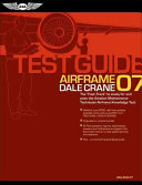 Airframe Test Guide 2007