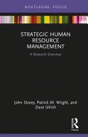 Strategic Human Resource Management Pdf/ePub eBook