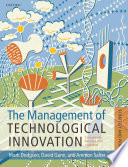 The Management Of Technological Innovation Book PDF