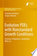 Evolution PDEs with Nonstandard Growth Conditions