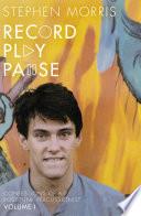 Record Play Pause Book PDF
