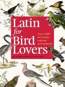 Pdf Latin for Bird Lovers
