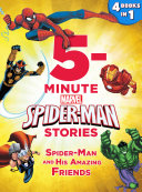 5-Minute Spider-Man Stories: Spider-Man and his Amazing Friends Book