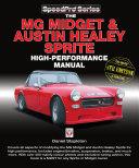 The MG Midget   Austin Healey Sprite High Performance Manual