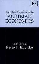 The Elgar Companion to Austrian Economics [Pdf/ePub] eBook