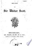 La Dame Du Lac Poème En Six Chants Sir Walter Scott