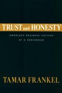 Trust and Honesty Pdf/ePub eBook