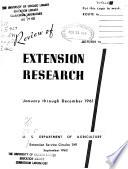 Extension Service Circular Book