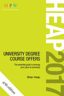 HEAP 2017: University Degree Course Offers