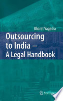 Outsourcing To India A Legal Handbook