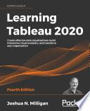Learning Tableau 2020