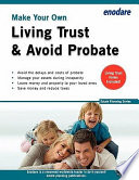 Make Your Own Living Trust and Avoid Probate