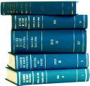 Recueil Des Cours, Collected Courses 1938