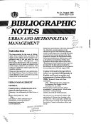 Bibliographic Note