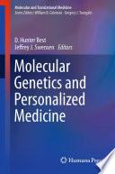 Molecular Genetics And Personalized Medicine Book PDF