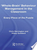 Whole Brain  Behaviour Management in the Classroom Book