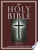 The Holy Bible Kjv Dedicated Ebook Reader Edition