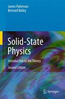 Solid-State Physics Pdf/ePub eBook
