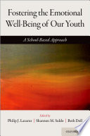 Fostering the Emotional Well Being of Our Youth Book