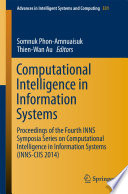 Computational Intelligence in Information Systems Book