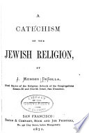 A Catechism of the Jewish Religion