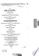An Oration Pronounced At Groton In The Commonwealth Of Massachusetts On The Fourth Of July A D 1807 In Commemoration Of The Independence Of The United States Of America Before The Republican Citizens Of The Town Of Groton And The Vicinity  Book