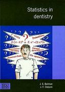 Statistics in dentistry