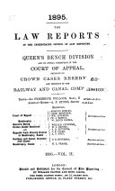 The Law Reports  Queen s Bench Division