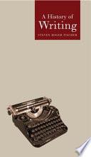 History of Writing