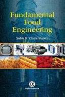 Fundamental Food Engineering Book