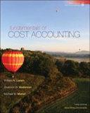 Fundamentals of Cost Accounting Book