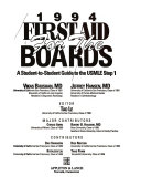 First Aid for the Boards Book
