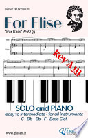 For Elise   All instruments and Piano  easy intermediate  key Am