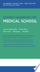"""Oxford Handbook for Medical School"" by Kapil Sugand, Miriam Berry, Imran Yusuf, Aisha Janjua, Chris Bird"