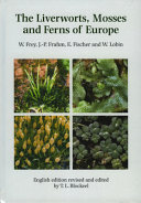 Pdf The Liverworts, Mosses and Ferns of Europe