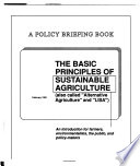 The Basic Principles of Sustainable Agriculture