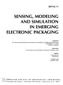 Sensing Modeling And Simulation In Emerging Electronic Packaging
