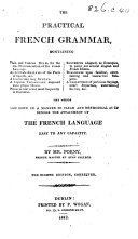 The Practical French Grammar ... Eighth Edition, Corrected