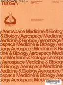 Aerospace Medicine and Biology