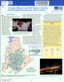 Effects of August 1995 and July 1997 Storms in the City of Charlotte and Mecklenburg County  North Carolina