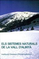 Els sistemes naturals de la vall d'Alinyà / edició a cura de Josep Germain i Otzet