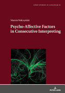 Psycho affective Factors in Consecutive Interpreting