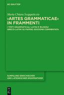 """""""Artes Grammaticae"""" in frammenti"""